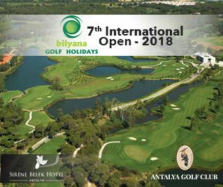 Bilyana Golf - The Bilyana 7th International Open Tournament 2018