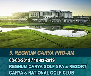 Bilyana Golf - 5th Regnum Carya Pro-Am Golf Tournament