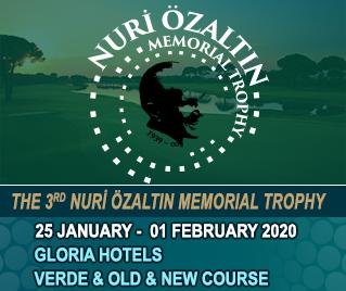 Bilyana Golf - 3. Nuri Özaltın Memorial Trophy