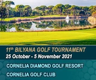 Bilyana Golf - 11th Bilyana Golf International Open Tournament 2021